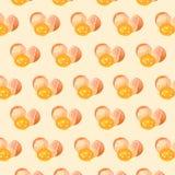 Modello del tuorlo d'uovo Fotografia Stock Libera da Diritti
