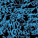 Modello del vandalo dei graffiti illustrazione vettoriale