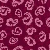 Modello delicato di vettore della piuma o delle foglie, petali S senza cuciture Fotografia Stock Libera da Diritti