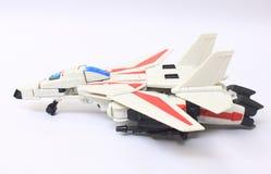 Modello dell'aereo di combattimento Fotografie Stock