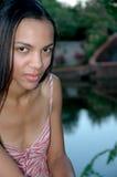 Modello dell'afroamericano fotografie stock libere da diritti