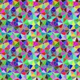 Modello dell'agrume del mosaico di Polycolour Fotografie Stock Libere da Diritti