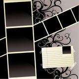 Modello dell'album Fotografia Stock