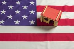 Modello dell'alloggio degli Stati Uniti Fotografie Stock