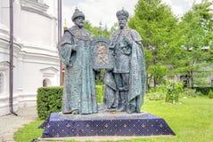 Modello dell'anniversario del monumento 400year dell'elezione al rei Fotografie Stock