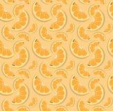 Modello dell'arancia di vettore Fotografie Stock