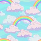 Modello dell'arcobaleno Fotografia Stock