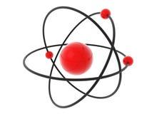 Modello dell'atomo Immagini Stock