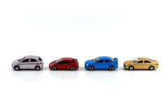 Modello dell'automobile del giocattolo Immagine Stock
