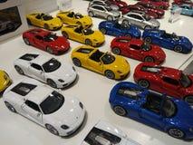 Modello dell'automobile del museo di Stuttgart, Germania Porsche fotografia stock