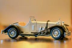 Modello 1937 dell'automobile del Oldtimer SSK di Mercedes Benz retro Fotografia Stock