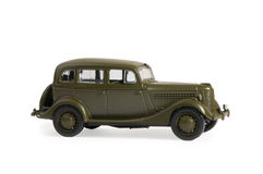 Modello dell'automobile della scala Fotografia Stock Libera da Diritti