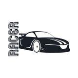 Modello dell'automobile sportiva Immagini Stock Libere da Diritti