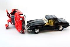Modello dell'automobile sportiva alla luce dello studio Immagini Stock Libere da Diritti