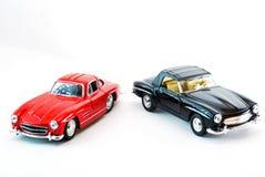 Modello dell'automobile sportiva alla luce dello studio Immagini Stock
