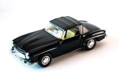 Modello dell'automobile sportiva alla luce dello studio Fotografie Stock Libere da Diritti