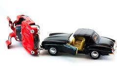 Modello dell'automobile sportiva alla luce dello studio Fotografie Stock