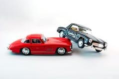 Modello dell'automobile sportiva alla luce dello studio Fotografia Stock