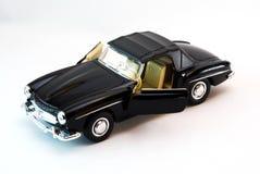 Modello dell'automobile sportiva alla luce dello studio Immagine Stock