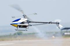 Modello dell'elicottero di RC Immagini Stock Libere da Diritti