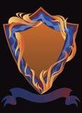 Modello dell'emblema Fotografia Stock Libera da Diritti
