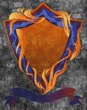 Modello dell'emblema Fotografie Stock