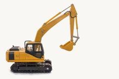 Modello dell'escavatore Fotografia Stock Libera da Diritti