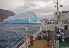 Modello dell'iceberg Fotografia Stock