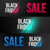 Modello dell'insegna di vettore di vendita di Black Friday royalty illustrazione gratis