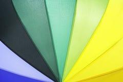 Modello dell'ombrello colorato bello arcobaleno fotografia stock libera da diritti