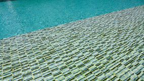 Modello dell'ondulazione dell'acqua in stagno Immagini Stock