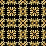 Modello dell'oro Immagini Stock Libere da Diritti