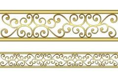 Modello dell'oro Fotografia Stock