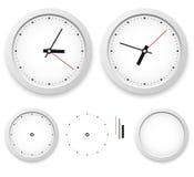 Modello dell'orologio di parete Fotografia Stock