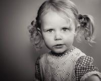 Modello della bambina Fotografie Stock