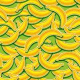 Modello della banana Fotografie Stock