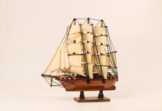 Modello della barca Immagini Stock