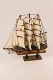 Modello della barca Fotografia Stock Libera da Diritti