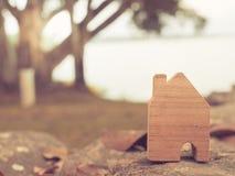 Modello della Camera nel piano di risparmio per la residenza Fotografia Stock