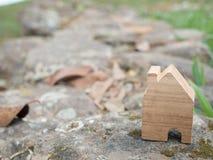 Modello della Camera nel piano di risparmio per la residenza Fotografie Stock