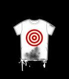 Modello della camicia con l'obiettivo Fotografia Stock