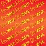 Modello della capra del nuovo anno Fotografia Stock Libera da Diritti