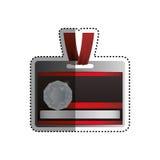 Modello della carta di VIP Fotografia Stock