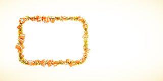 modello della cartolina d'auguri di crescita del grafico del regalo di natale 3d Fotografie Stock Libere da Diritti