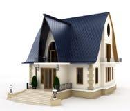 Modello della casa della famiglia Immagini Stock