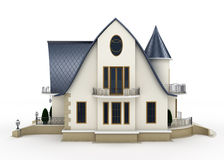 Modello della casa della famiglia Fotografie Stock