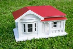 Modello della casa della villa del bungalow australiano o in Nuova Zelanda NZ Victo Fotografia Stock