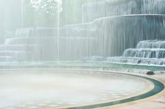 Modello della cascata Fotografie Stock Libere da Diritti