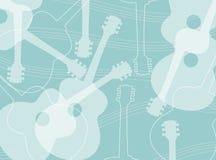 Modello della chitarra acustica Fotografia Stock Libera da Diritti