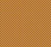 Modello della cialda Struttura della confetteria del wafer del cioccolato Illustrazione di vettore per la vostra acqua dolce di d royalty illustrazione gratis
